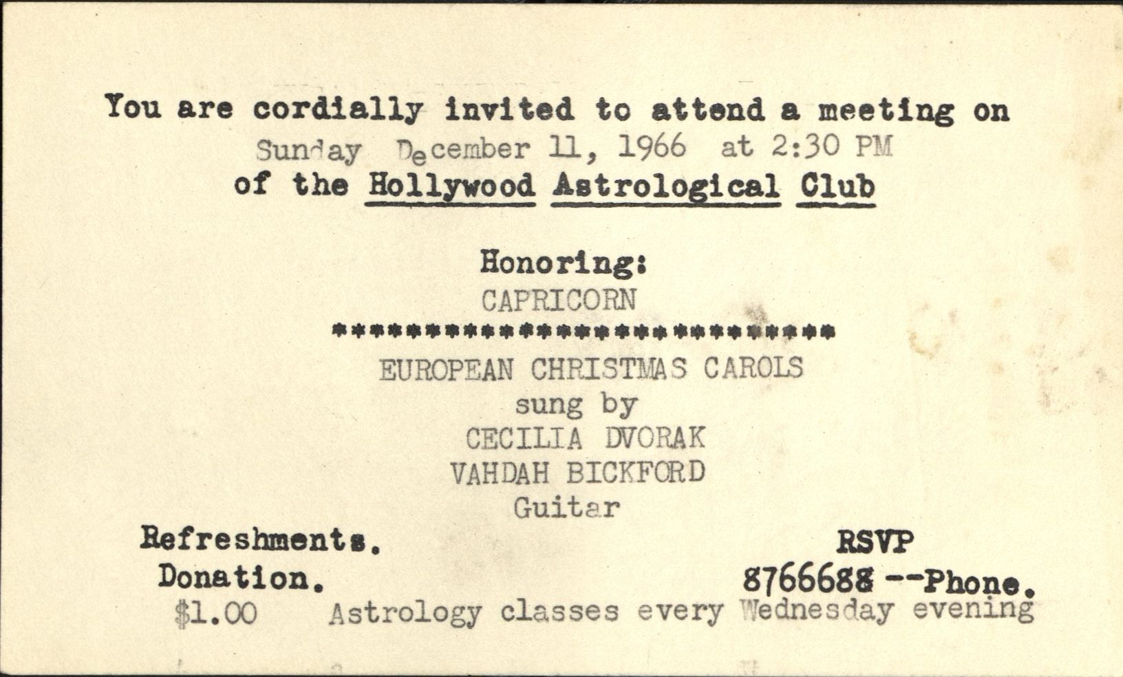 Los angeles archivists collectiveastrological archives 7 aiddatafo Gallery