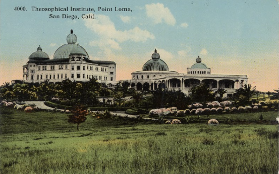 Theosophical Institute Postcard